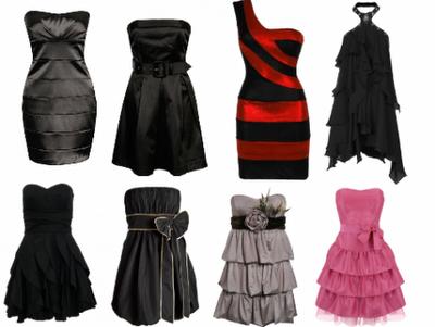 Moda dos Vestidos.